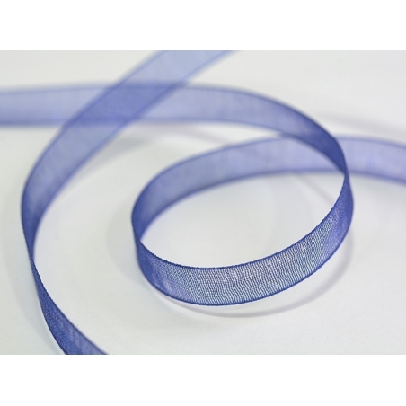 Acheter 1 m de ruban organza 6 mm - bleu de minuit - 0,39€ en ligne sur La Petite Epicerie - 100% Loisirs créatifs