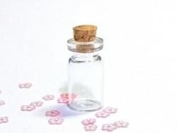1 Glasfläschchen 2,8 cm