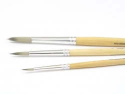 1 round school brush - no. 1