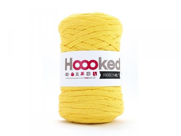XL Hooked Zpagetti ribbon - Yellow