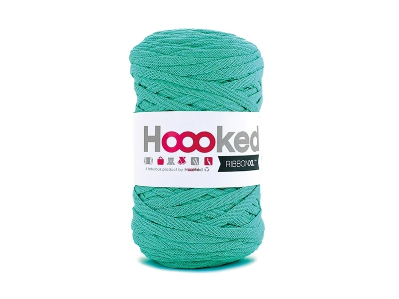 XL Hooked Zpagetti ribbon - Mint green