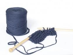 Giant Hooked Zpagetti bobbin - Navy blue