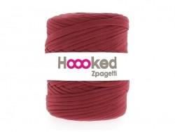 "Große Rolle Textilgarn - ""Hooked Zpagetti"" - rot"