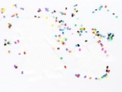 Plaque support pour perles HAMA - Fleur et princesse Hama - 6