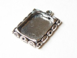 1 frame charm - silver-coloured