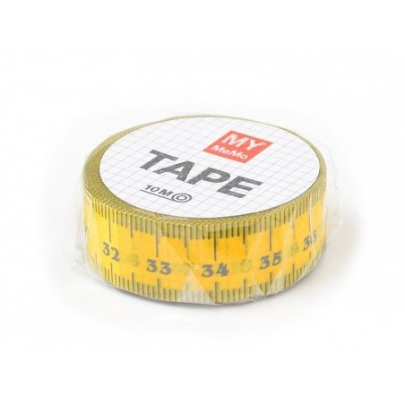Masking Tape with a pattern - Measuring tape