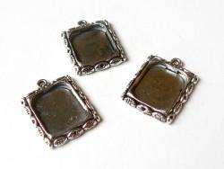 1 frame charm - silver-coloured