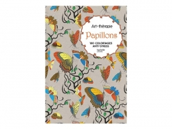 """Book -"""" Collages et papiers découpés à colorier"""" (in French)"""