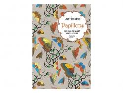 """Livre de coloriage """"papillons"""" Hachette - 1"""
