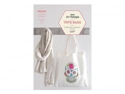 """Livre """"Tote bags - 15 idées pour customiser vos sacs"""""""