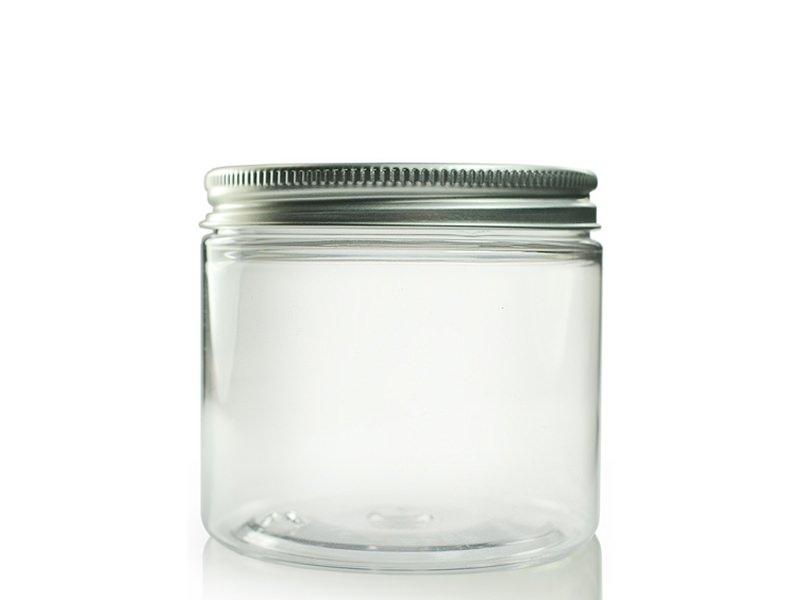Bocal plastique 200 ml avec couvercle en aluminium  - 1