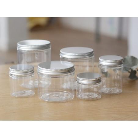 Acheter Bocal plastique 200 ml avec couvercle en aluminium - 2,39€ en ligne sur La Petite Epicerie - Loisirs créatifs