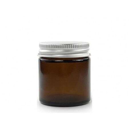 Acheter Bocal en verre ambré 120 ml avec couvercle en aluminium - 3,49€ en ligne sur La Petite Epicerie - 100% Loisirs créatifs