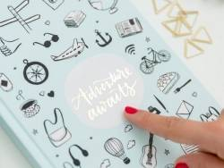 "Carnet Lovely Streets - ""Adventures awaits"" Mr Wonderful  - 4"