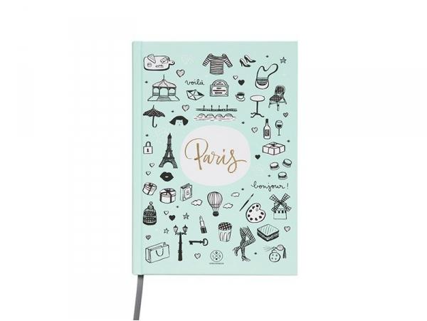 "Carnet Lovely Streets - ""Sketch the world Paris"" Mr Wonderful  - 1"