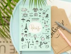 "Carnet Lovely Streets - ""Sketch the world Paris"" Mr Wonderful  - 4"