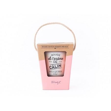 """Acheter Bougie parfum vanilla ice-cream - """"Bougie à l'arôme de câlin"""" - 16,90€ en ligne sur La Petite Epicerie - Loisirs cré..."""