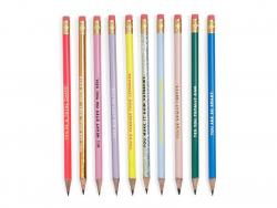 Set de crayons a compliments