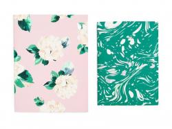 Set de carnets - Lady of leisure + marble
