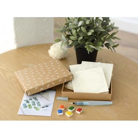 Kit MKMI - Mes cartes à l'aquarelle - DIY La petite épicerie - 5