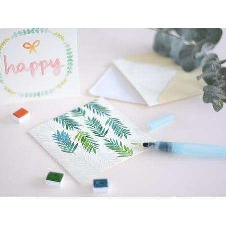 Kit MKMI - Mes cartes à l'aquarelle - DIY La petite épicerie - 6