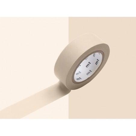 Masking tape uni - marron pastel Masking Tape - 6