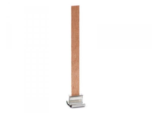 Mèche en bois pour création de bougies -  9 cm  - 1
