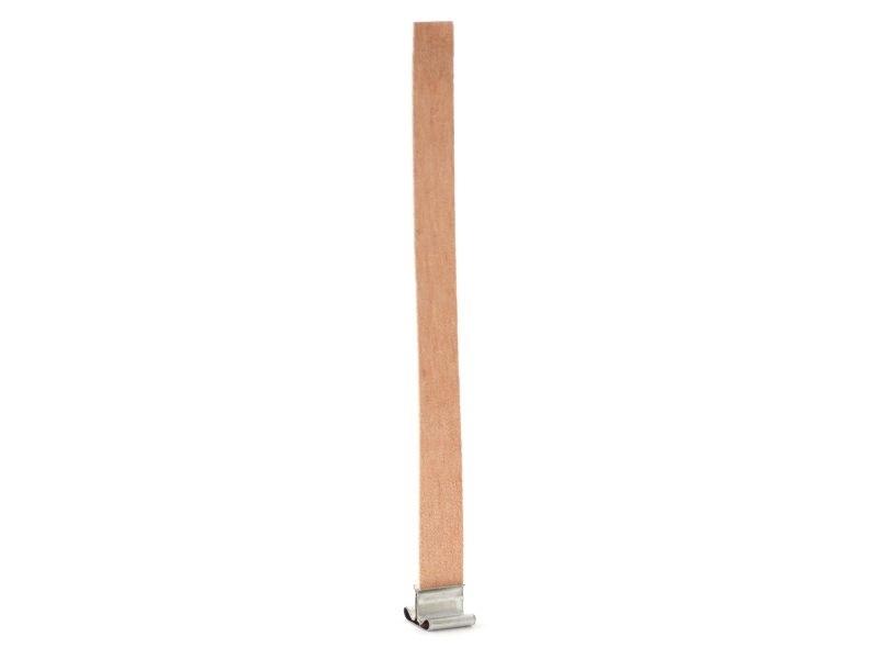 Grande mèche en bois pour création de bougies - 15 cm  - 1