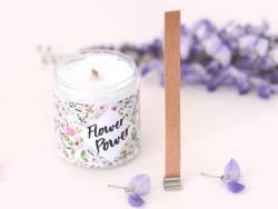 Grande mèche en bois pour création de bougies - 15 cm