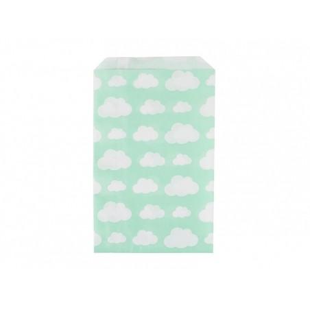10 pochettes en papier - nuages My little day - 1