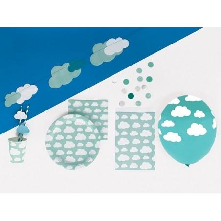 10 pochettes en papier - nuages My little day - 2