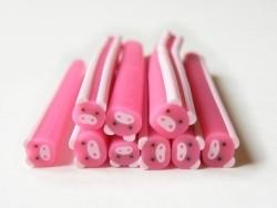 Schweinchencane - rosa