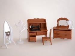 Meubles miniatures - chambre