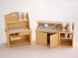 Meubles miniatures - cuisine