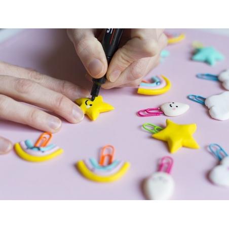 Acheter Marqueur posca - pointe moyenne 2,5 mm - Noir - 4,20€ en ligne sur La Petite Epicerie - 100% Loisirs créatifs