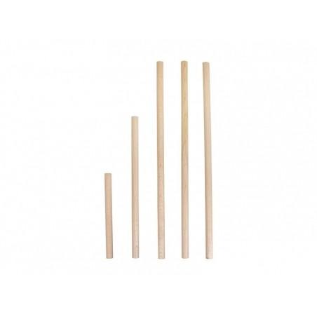 5 baguettes rondes en bois Rayher - 1