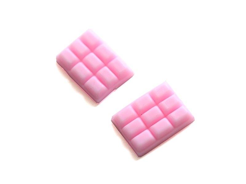 Acheter Un cabochon tablette de chocolat rose - 0,79€ en ligne sur La Petite Epicerie - 100% Loisirs créatifs