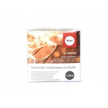 Acheter Guirlande lumineuse micro-led à pile - rond - 3,65€ en ligne sur La Petite Epicerie - Loisirs créatifs