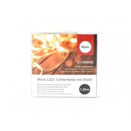 Acheter Guirlande lumineuse micro-led à pile - ovale - 3,65€ en ligne sur La Petite Epicerie - Loisirs créatifs