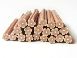 Flower cane - brown