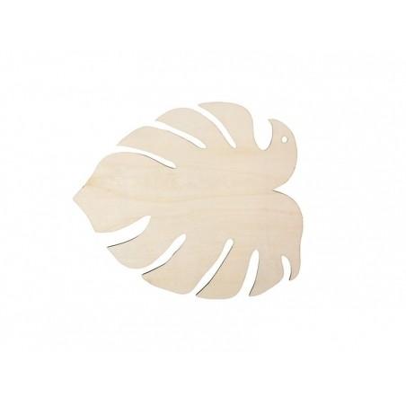 Acheter Petite feuille de monstera en bois - 2,69€ en ligne sur La Petite Epicerie - Loisirs créatifs