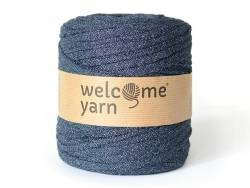 Grande bobine de fil trapilho - jean denim