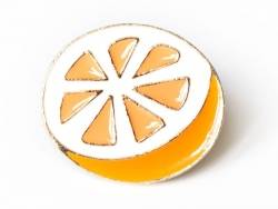 pin's orange agrume