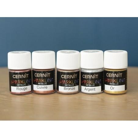 Acheter Poudre de mica Sparkling metallic - rouge - 3,59€ en ligne sur La Petite Epicerie - Loisirs créatifs