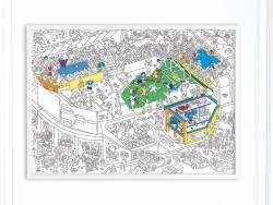 Acheter Poster géant à colorier - Football - 9,90€ en ligne sur La Petite Epicerie - 100% Loisirs créatifs