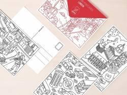 Acheter 16 cartes postales à colorier - Londres - 7,90€ en ligne sur La Petite Epicerie - 100% Loisirs créatifs