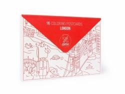 16 cartes postales à colorier - Londres OMY  - 1
