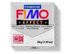 Fimo Effect - glitter colour white no. 052