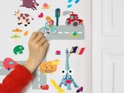 Acheter Planches de stickers - France - 7,90€ en ligne sur La Petite Epicerie - 100% Loisirs créatifs