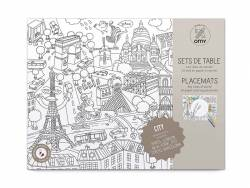 Set de table - city map OMY  - 1